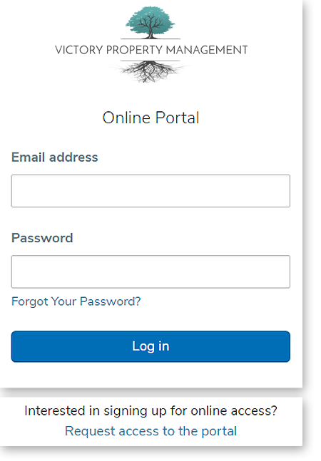 Victory-tenant-portal-login